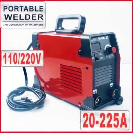 110V/220V MMA-225 Portable Digital Welder Stick Welding Machine German IGBT High Quality US Plug