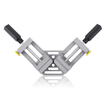 90° Right Angle Aluminum Alloy Woodworking Clamp with Double Handle Vice Holder Tools