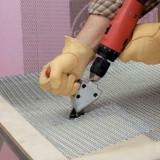 Adaptador de cortador de folha de metal Cortador de cortador de rede de fio de ferro compatível com furadeira elétrica