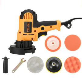 110V 700W Multifunctional Electric Polisher Kit Variable Speed Regulation Polishing Machine WT US Plug
