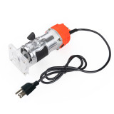 110V 800W Wood Laminate Palm Router Electric Hand Trimmer Edge Joiners Woodworking Tool WT US Plug