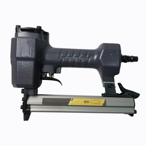 """Air Nail Gun 10-22MM """"J"""" Type Nailer Stapler Air Tool 100 capacity"""