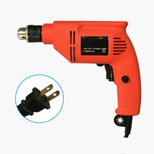 100-127V Electric Impact Wrench Torque Drill Equipment Tool 500W With US Plug