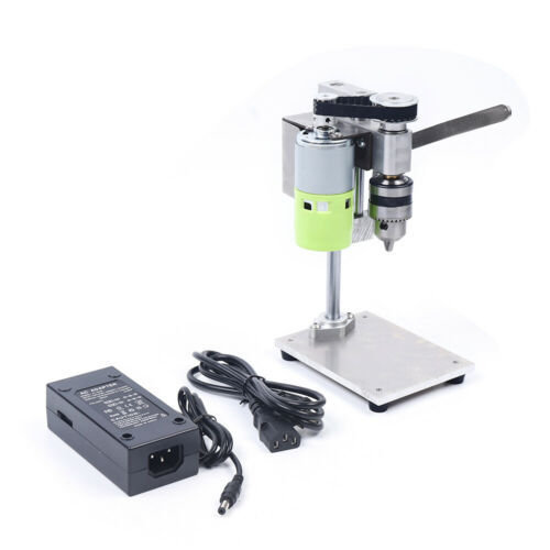 Tabelle Mini Elektrobohrmaschine Bohrer Elektrowerkzeuge B12 (1.5-10 mm) Bohrhub 40 mm Mit 110V-240V Netzteil & US-Stecker