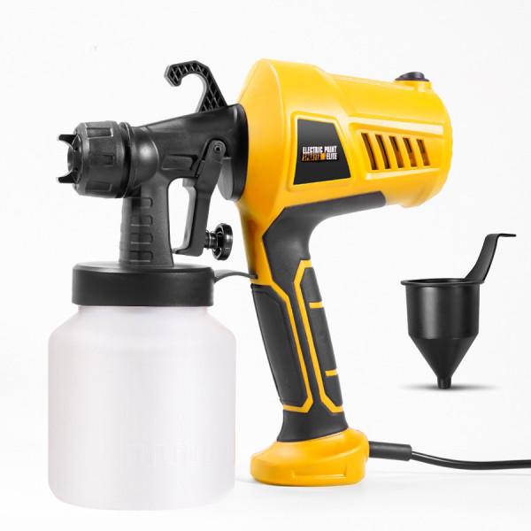 220V 500W Elektro-Farbspritzgerät Sprühlackierwerkzeug mit Einstellknopf für DIY-Möbel Holzbearbeitung