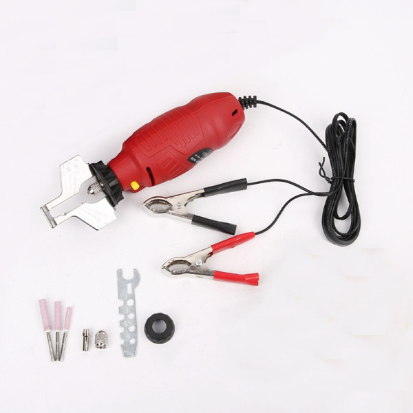 12V Portable Mini Handhold Chainsaw Sharpener Chain Saw Grinder Electric Grinder File Pro Tool Set