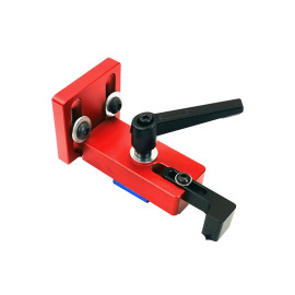 Fixed T-Slot Miter Track Stop Chute Stopper 45 Type Manual Woodworking DIY Tools