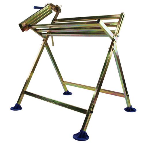 Holzfforma Heavy Duty Saw Horse Steel Folding Sawhorse Sawbuck Lumber Cutting