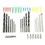 300pcs 2-10mm HSS Twist Drill Bit Set Expansion Screws Wood Working Tool