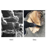 38mm Kindling Firewood Splitter Split Drill Bit Triangle Shank For Electric Drill