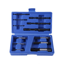12pc Screw Extractor and Drill Bit Guide Set Broken Bolt Fastener Remover Tool Kit