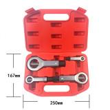 4pcs 9-27mm Mutter Splitter Cracker Schraubenentferner Extraktor Rostige Mutter Separator
