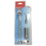 7mm-19mm Multifunction Universal 1/4''-3/4'' Standard Hand Tools Socket Wrench Repair Tools With Drill Adapter