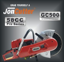 58cc JonCutter GC500 Gasoline Concrete Cut-Off Saw Cement Concrete Cutter Blade Not Included