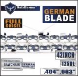 Holzfforma® 42 Inch .404  .063  125DL Full Chisel Chain For Stihl 088 MS880 070 090 084 076 075 051 050 Chainsaw