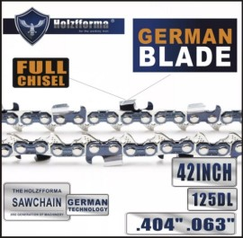 Holzfforma® 42 Inch .404  .063  125DL Full Chisel Chain For Stihl 088 MS880 070 090 084 076 075 051 050 Chainsaw