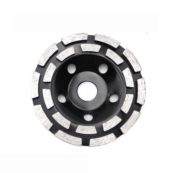 Segmento de disco de roda de copo de moagem de diamante de 125 mm para cerâmica de concreto