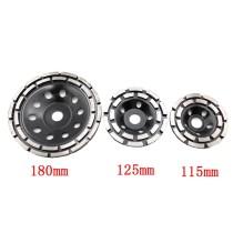 115 mm, 125 mm, 180 mm segmento de disco de roda de copo de retificação de diamante para cerâmica de concreto