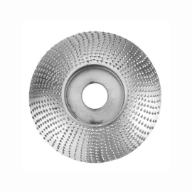 84mm Extreme Shaping Disc 16mm Bore Tungsten Carbide Wood Carving Disc Grinder Disc for 100 115 Angle Grinder Woodworking Tool