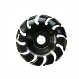 Disco de escultura de madeira com 90 dentes de 12 mm Disco de modelagem com rebarbador de furo de 16 mm para 100 115 esmeril de ângulo