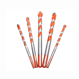 5pcs 6/8/10/12mm Triangular-overlord Handle Multifunctional Auger Drill Bits For Tile Glass Wall Wood