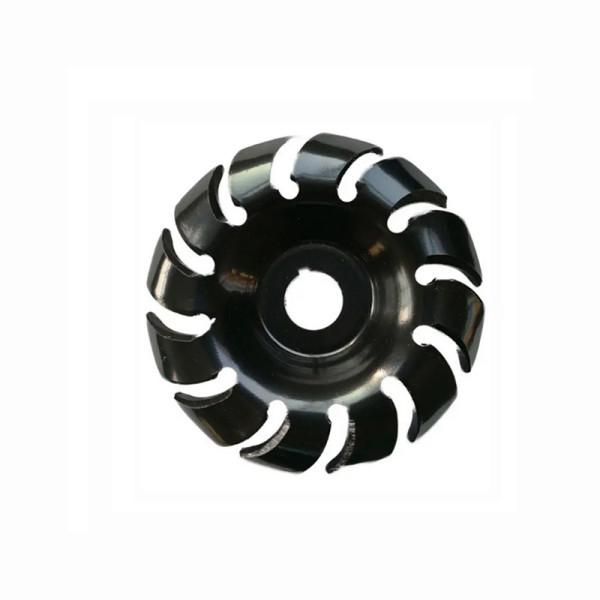 Disco de escultura de madeira com 65 dentes de 12 mm Disco de modelagem com rebarbador de furo de 16 mm para 100 115 esmeril de ângulo