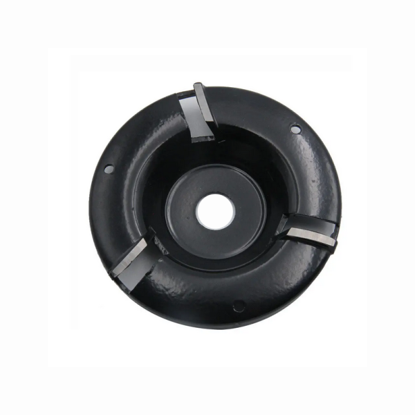 4 Inch Carving Disc Woodworking Turbo Plane 3T Milling Cutter For 16mm Aperture Angle Grinder