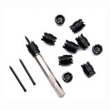 13pcs 3/8 Inch Spot Welding Drill Bit Separate Remover Rotating Double Sided Spot Weld Cutter Set