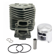 52mm Cylinder Piston Kit Compatible with Stihl TS510, 050, 051 Concrete Cut-off Saw replaces # 11110201200