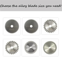 Multi-specification Alloy Multipurpose Circular Saw Blade For Cutting Aluminum Metal Wood Plastic