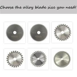 Lâmina de serra circular multifuncional em liga de múltiplas especificações para cortar alumínio, metal, madeira, plástico