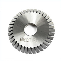 60*6*36T HSS Cutting Saw Blade Single Face Toothed Circular Saw Blade Cutting Blade