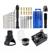72pcs Mini Electric Drill Tool Set Rotary Tools Dedicated Locator Grinding with Twist Drill Bit Wood Rotary Files Power Tools Accessories