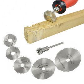 22 mm / 25 mm / 32 mm / 35 mm / 44 mm / 50 mm / 60 mm Mini HSS Mandril de lâmina de serra circular para corte de madeira, plástico e metal macio