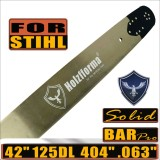 Holzfforma® 42 Inch .404 .063 125Drive Links Guide Bar Compatible with Stihl 088 MS880 070 090 084 076 075 051 050 Chainsaw
