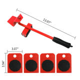 Transport Shifter Wheel Slider Lifting Roller Compatible with Heavy Duty Item Furniture Moving Tool