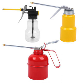 250ML 300ML 500ML Oil Can Pot High Pressure Pump Oiler Grease Gun Tool