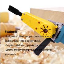 Conjunto de ferramentas manuais para esmerilhadeira angular para carpintaria esculpida em madeira cinzel manual