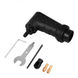 Right Angle Rotary Tool Adapter Attachment Right Angle Converter Kit Compatible with Dremel Electric Grinder