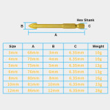 7pcs 3-12mm Hex Shank Multifunctional Glass Tile Punch Hole Opener Cement Triangle Rotor Drill Bit Hole Saw