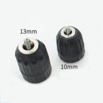 0.8mm-10mm / 2mm-13mm Adaptador de mandril de perfuração elétrico conversor de chave inglesa Mandril de perfuração sem chave