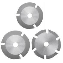 Lâmina de serra circular 115T 125T 3 mm 6 mm Disco de serra multiferramenta com ponta de metal duro Disco de corte de madeira com ponta de metal duro
