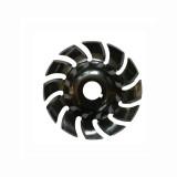 65mm 90mm 12 dentes Disco de escultura em madeira Disco de modelagem com orifício de 16mm compatível com 100 115 Angle Grinder marcenaria