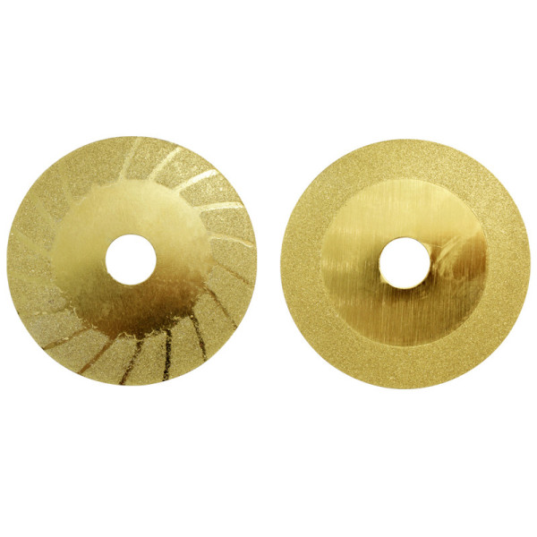 Lâmina de diamante dourado de 100 mm (4 '') para rebarbadora elétrica, corte de azulejos de cerâmica, mármore