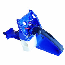 Blue Fuel Gas Tank Housing Back Rear Handle Assy For Holzfforma G660 Power Head Stihl MS660 066 MS650 Chainsaw # 1122 350 0817