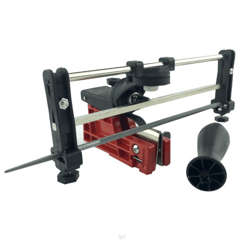 Holzfforma® Bar Mounted Chain Sharpener Chainsaw Saw Chain Filing Guide