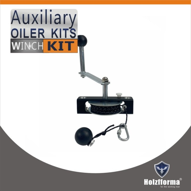 Auxiliary Oiler Winch Kit With Handle for chain saw milling equipments and Chainsaw mill