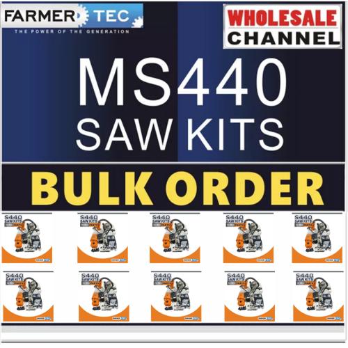 MS440 10 SAWKITS BULK ORDER(Minimum Order Quantity 10 Sets) Complete aftermarket repair kits For Stihl MS440 044