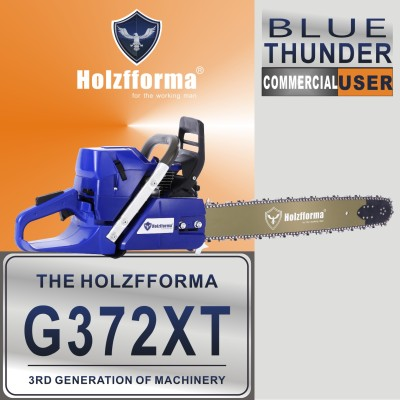 71cc Holzfforma® G372XT Gasoline Chain Saw Power Head Lower Fuel Consumption 50mm Bore Without Guide Bar and Chain Top Quality By Farmertec All Parts Are For H372X TORQ Chainsaw