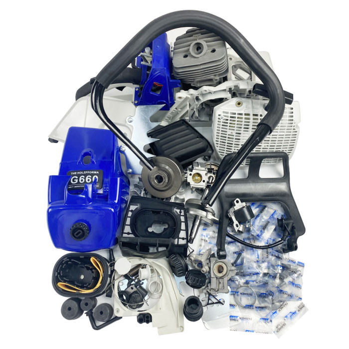 FARMERTEC Complete Repair Parts Engine Motor Crankcase For Stihl MS660 066 New Blue